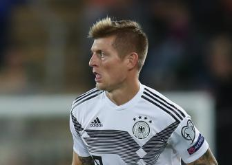 Kroos and Goretzka recalled by Germany for final qualifiers