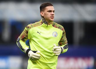 Ederson out of City's clash at Liverpool due to injury