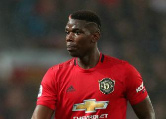 Pogba has cast removed in boost for Manchester United