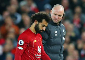 Mohamed Salah ruled out of Egypt games with ankle injury