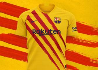 Barcelona launch Catalan flag inspired fourth shirt
