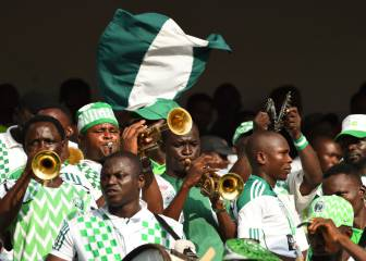 Despite an early scare, Nigeria too strong for plucky Lesotho