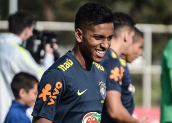 We can't rush things with Rodrygo - Brazil coach Tite