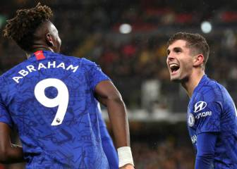 Pulisic and Abraham lead Chelsea's line against City