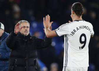 Mourinho calls Ibrahimovic about reunion at Spurs