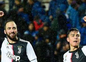 Higuain and Dybala late show earns Juve win at Atalanta