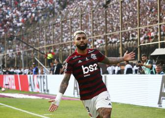 Late 'Gabigol' double secures Libertadores for Flamengo