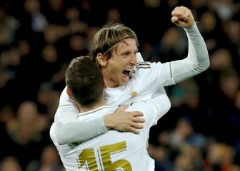 Madrid come from behind to see off Real Sociedad