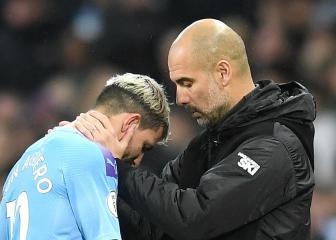 Guardiola fears Sergio Agüero injury could be