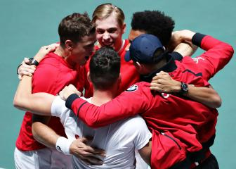 Canada outlast Russia to book historic Davis Cup final berth