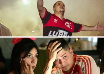 Copa Libertadores: River and Flamengo fans' agony and ecstasy