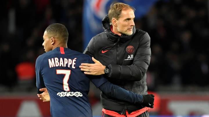 PSG boss Tuchel responds to Zidane's declaration of love for Mbappé