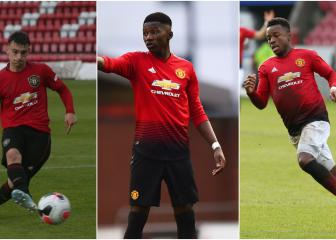 Laird, Bernard and Levitt: the lowdown on teenage Man Utd trio set for first-team debuts