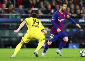 Messi breaks another record with goal against Dortmund