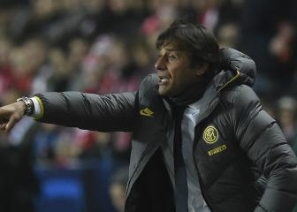 Conte relishing Barça showdown after Inter win in Prague