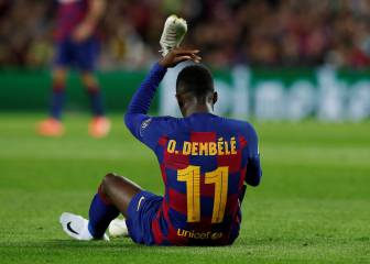 Dembélé could face surgery and three-month lay-off