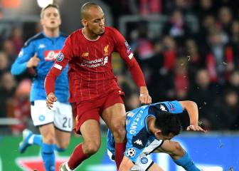Fabinho out until the New Year, Liverpool confirm