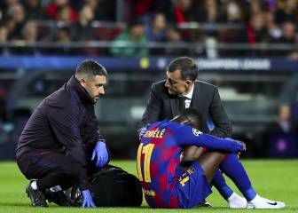 Dembélé to miss 10 weeks with hamstring injury