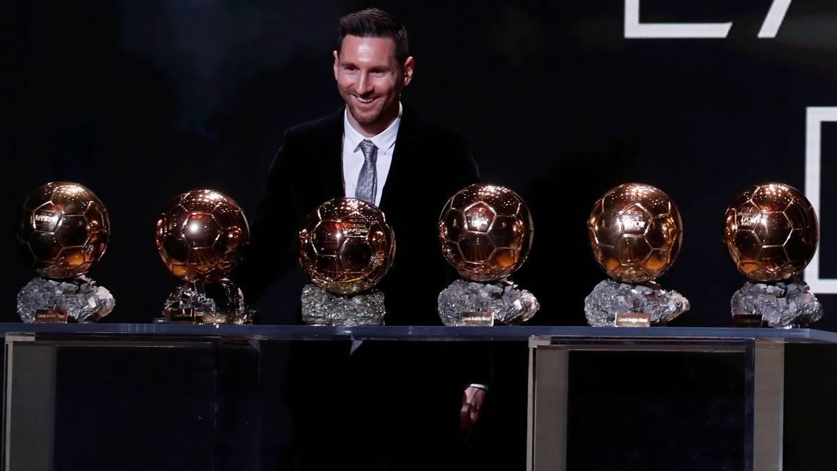 Ballon d gala 2019 Messi and Rapinoe triumphant AS