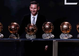 Messi wins his sixth Ballon d'Or