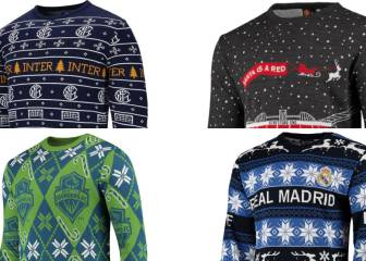 Football clubs worldwide unleash 2019 Christmas jumper collection