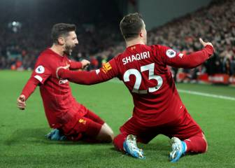 Emphatic derby win sees Liverpool move 8 points clear