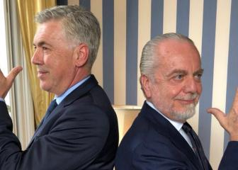 Napoli president has faith in Ancelotti amid Gattuso reports