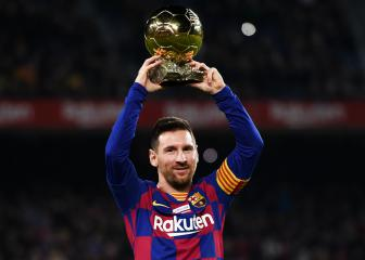 Messi hat-trick, the perfect way to celebrate the Ballon d'Or