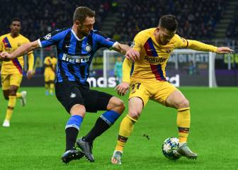 Second-string Barcelona knock Inter out of Champions League