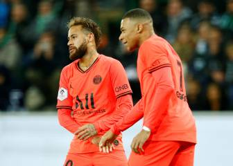 Mbappé brace helps PSG past Saint-Etienne