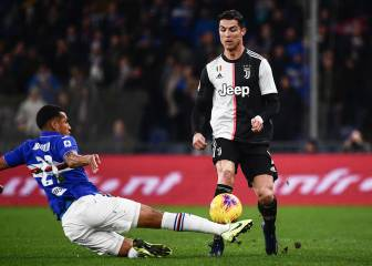 Cristiano header for Juve defies age and gravity