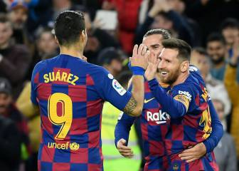 Barcelona end 2019 unbeaten at home in LaLiga