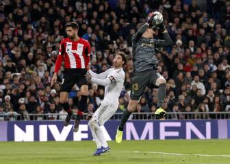 Courtois three games away from all-time Madrid record