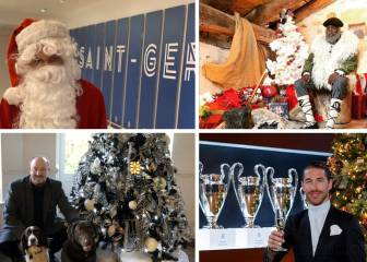 Christmas greetings from Ramos, Dybala, Mbappé...