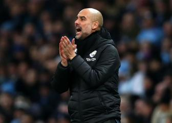Guardiola rules out cup focus to secure European place