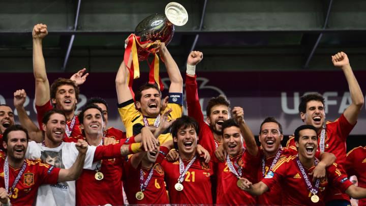 France Football Team Of Decade Spaniards Dominate 2010 2019 Xi As Com