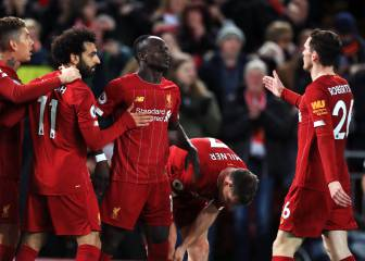 Salah and Mané start Liverpool's 2020 with 2-0 win
