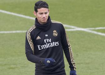 James misses out again for Madrid