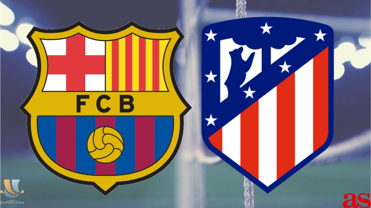 Barcelona vs Atlético Madrid: Spanish Super Cup, how and where to watch, times, TV, online