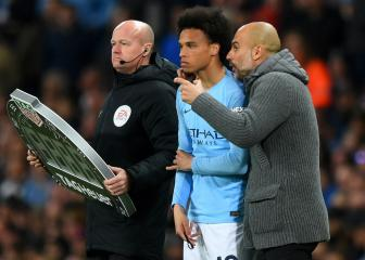 Pep says Sané relationship not strained by Bayern speculation