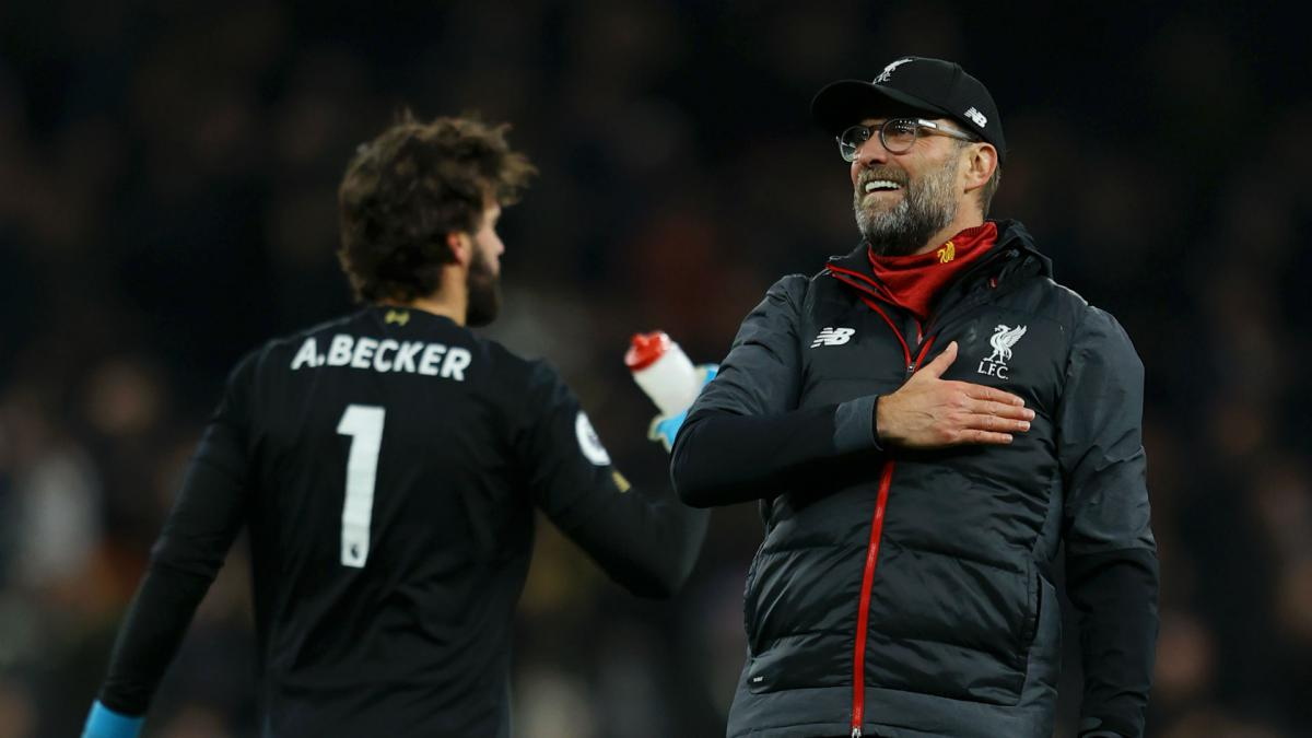 Klopp refusing to get carried away despite Liverpool's 'special' points tally