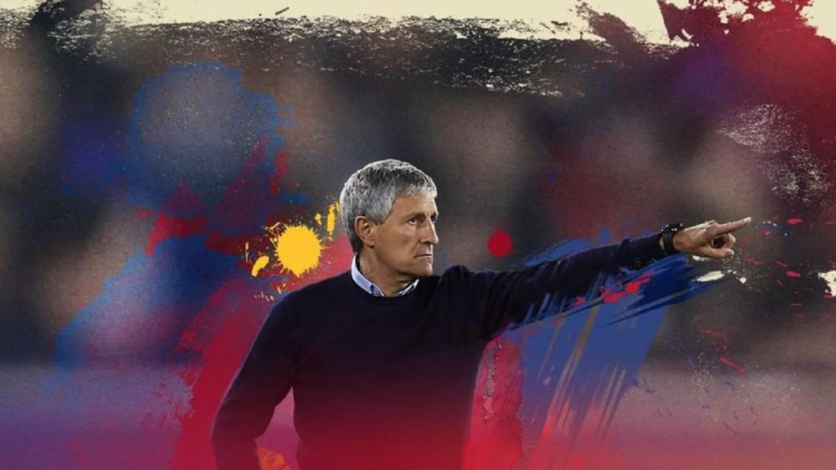 Quique Setién presented as Barcelona manager - AS.com
