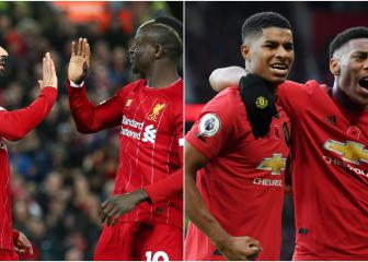 Liverpool v Man Utd: How Rashford & Martial compare to Salah & Mane