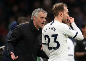 Mourinho surprised by Inter's confidence over Eriksen