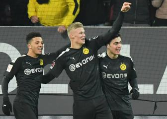 Haaland scores hat-trick off the bench on Dortmund debut
