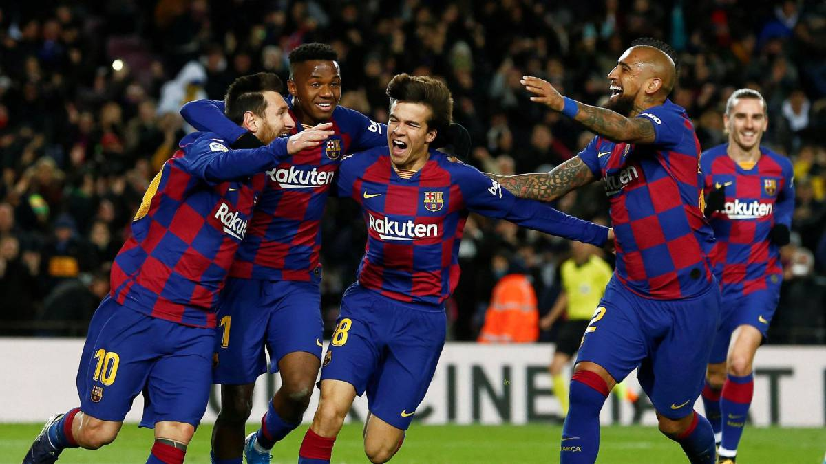 Messi Steers Barca To Victory In Setien S First Game As Com