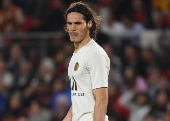 Cavani keen for PSG exit but Atleti bid rejected, confirms Leonardo