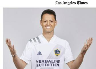 LA Times shows pictures of Chicharito with LA Galaxy kit