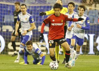 Kagawa's Zaragoza send Kubo's Mallorca out of the Copa del Rey