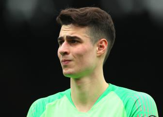 Lampard urges Chelsea keeper Kepa to show his worth
